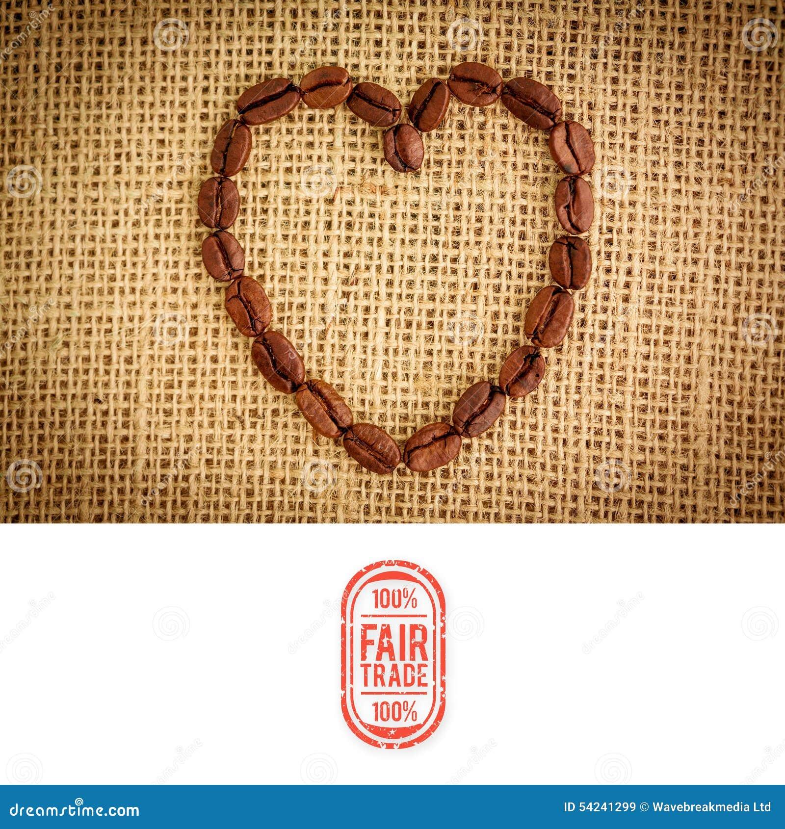 Imagen compuesta del gráfico del comercio justo