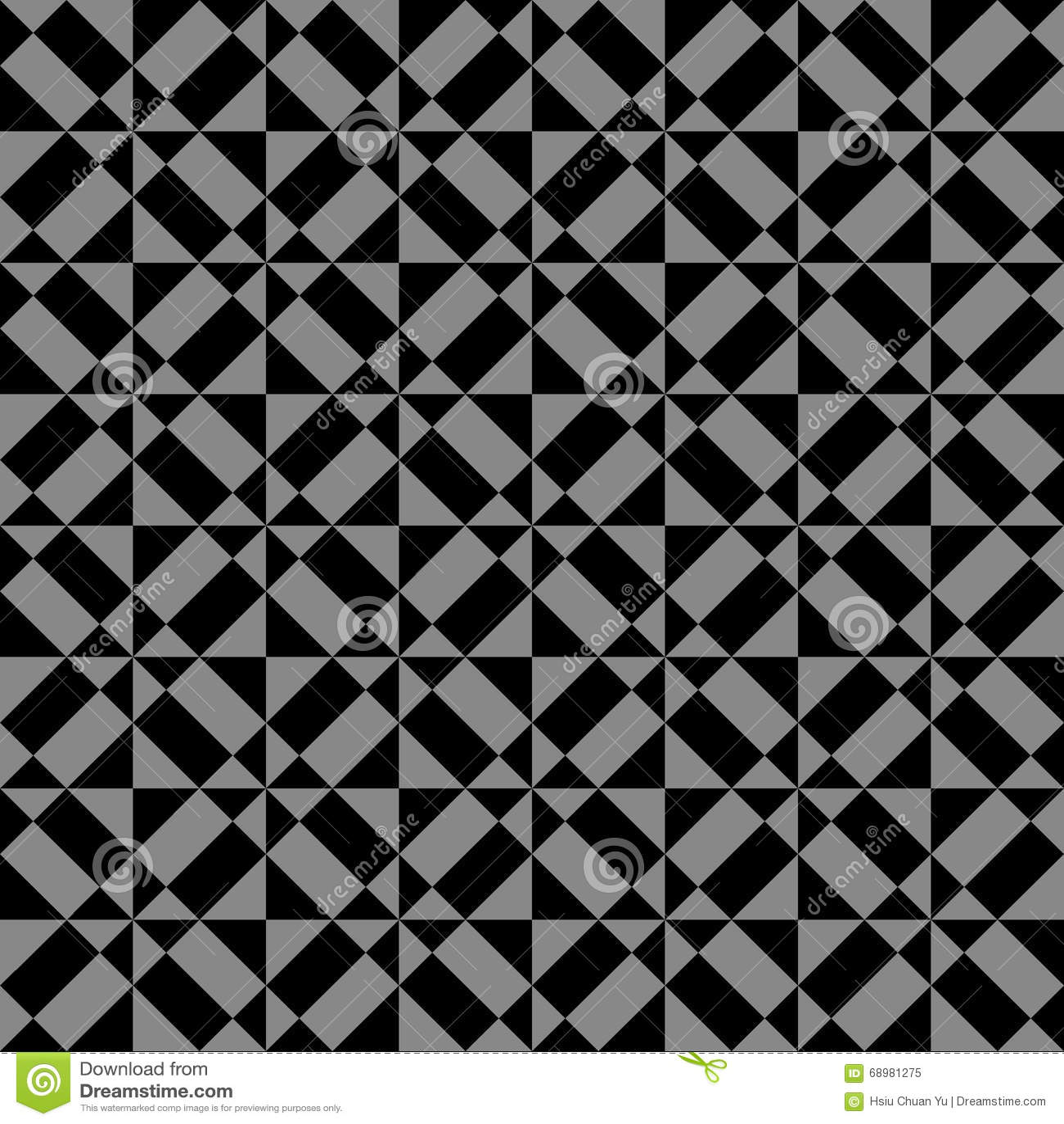 Imagen de fondo antigua oscura elegante del cuadrado de la geometría del triángulo