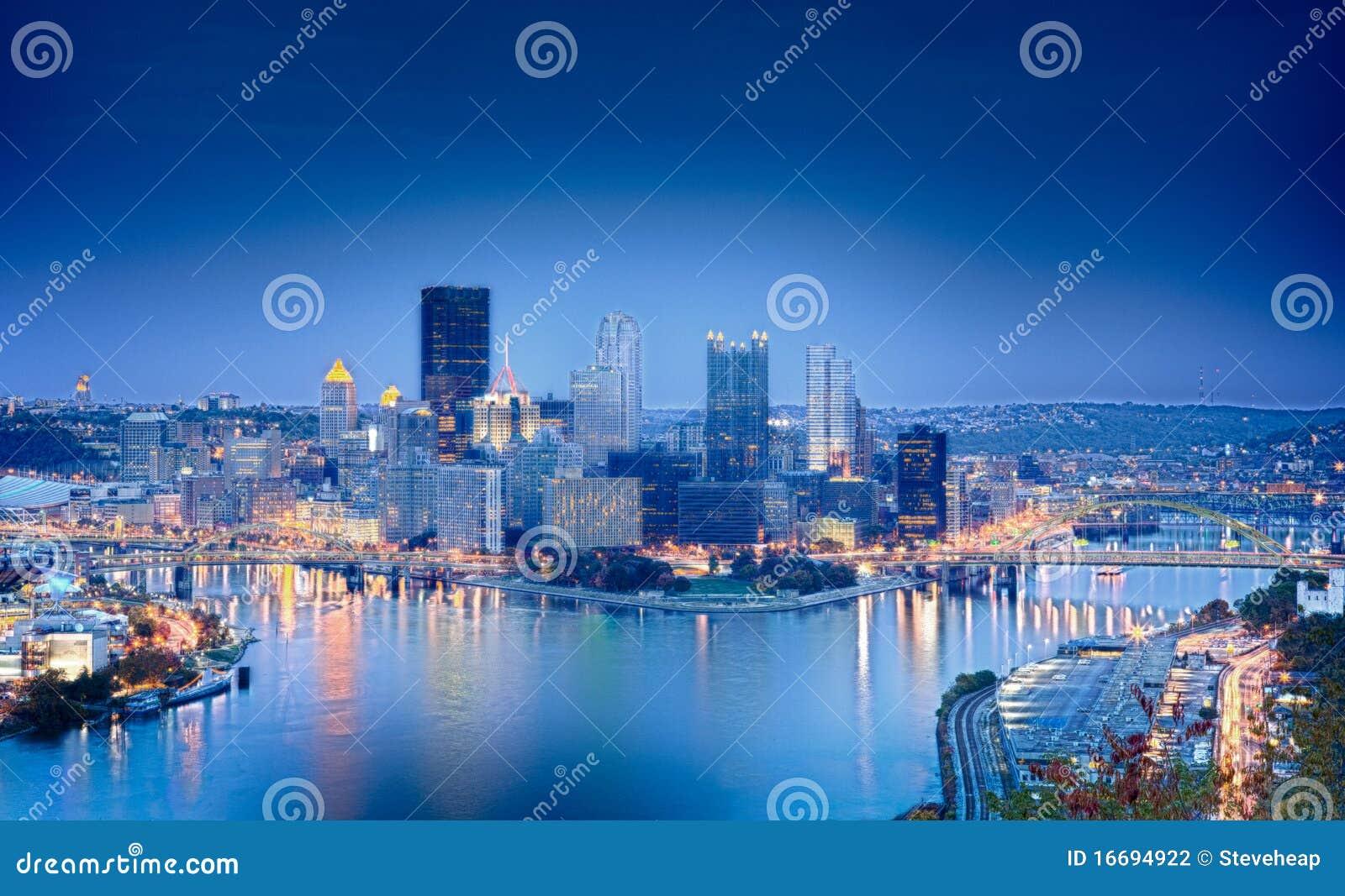 Imagen de HDR de Pittsburgh