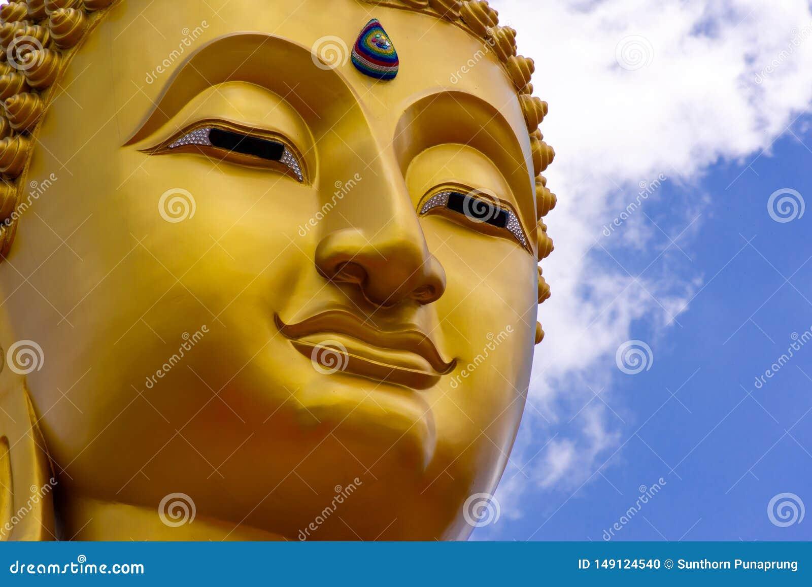 Imagen de la estatua de Buda en Tailandia