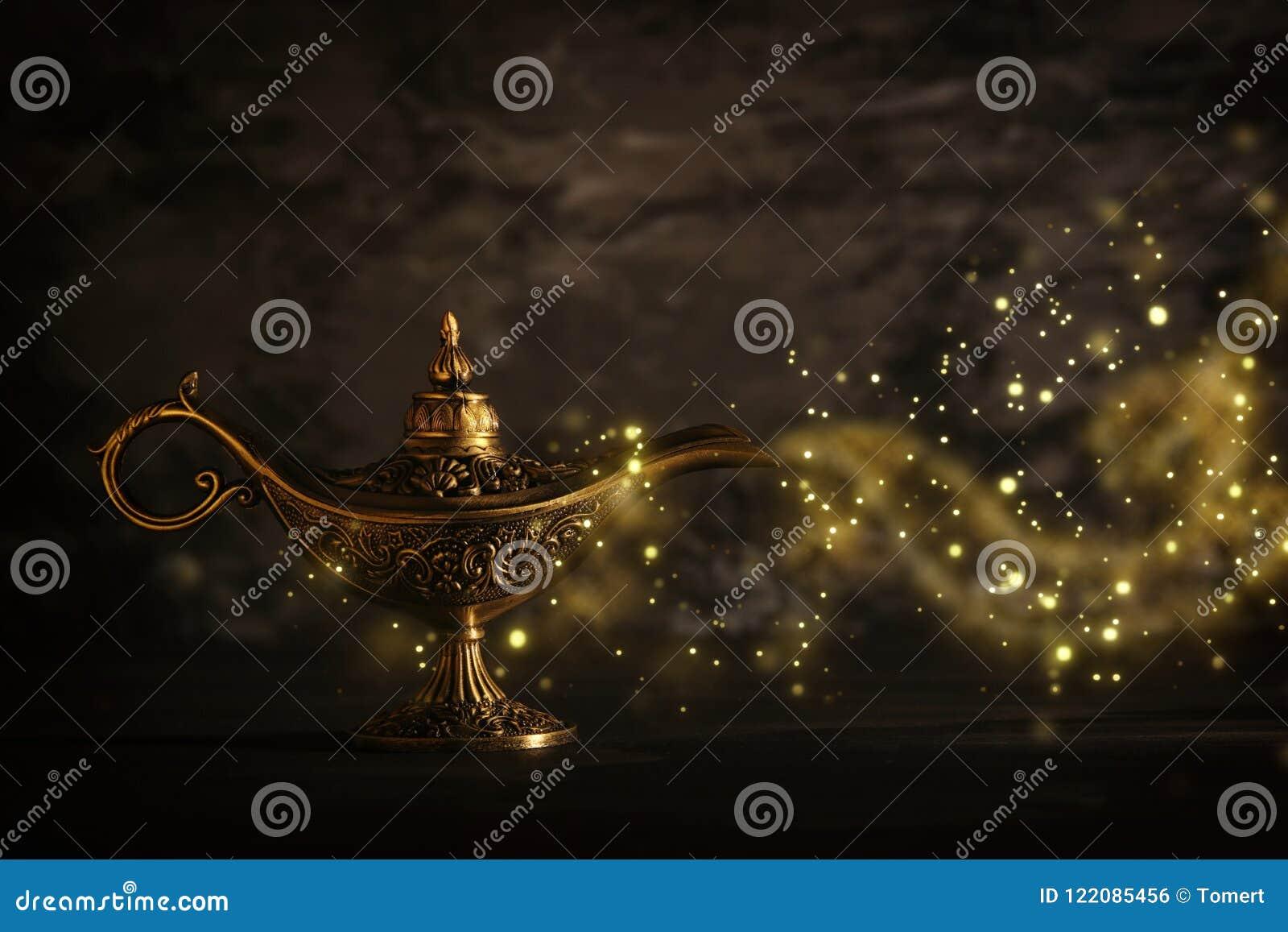 Mágica La De Con De Lámpara Aladdin Imagen Misteriosa La PnN80OwkX