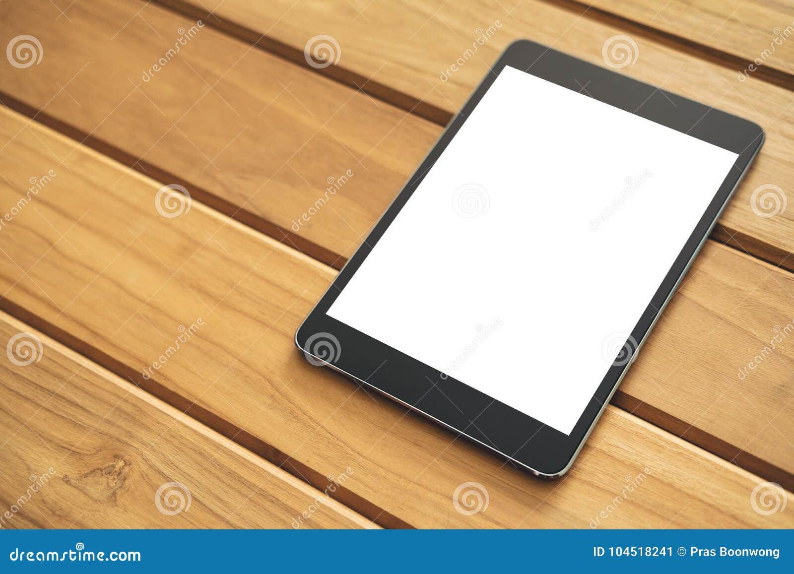 imagen de la maqueta de la pc negra de la tableta con la