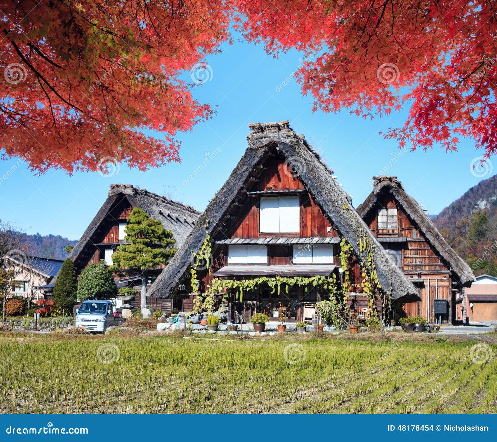 Imagen de los pueblos históricos de Shirakawa-gand Gokayama