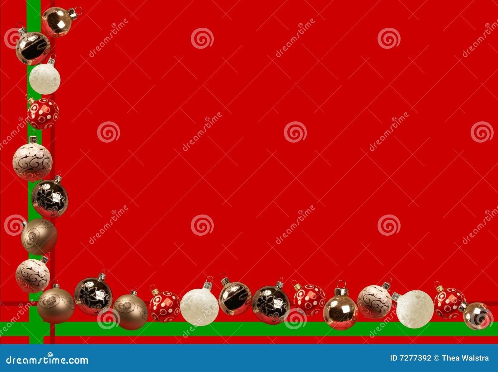 Imagen del día de fiesta con las bolas de la Navidad