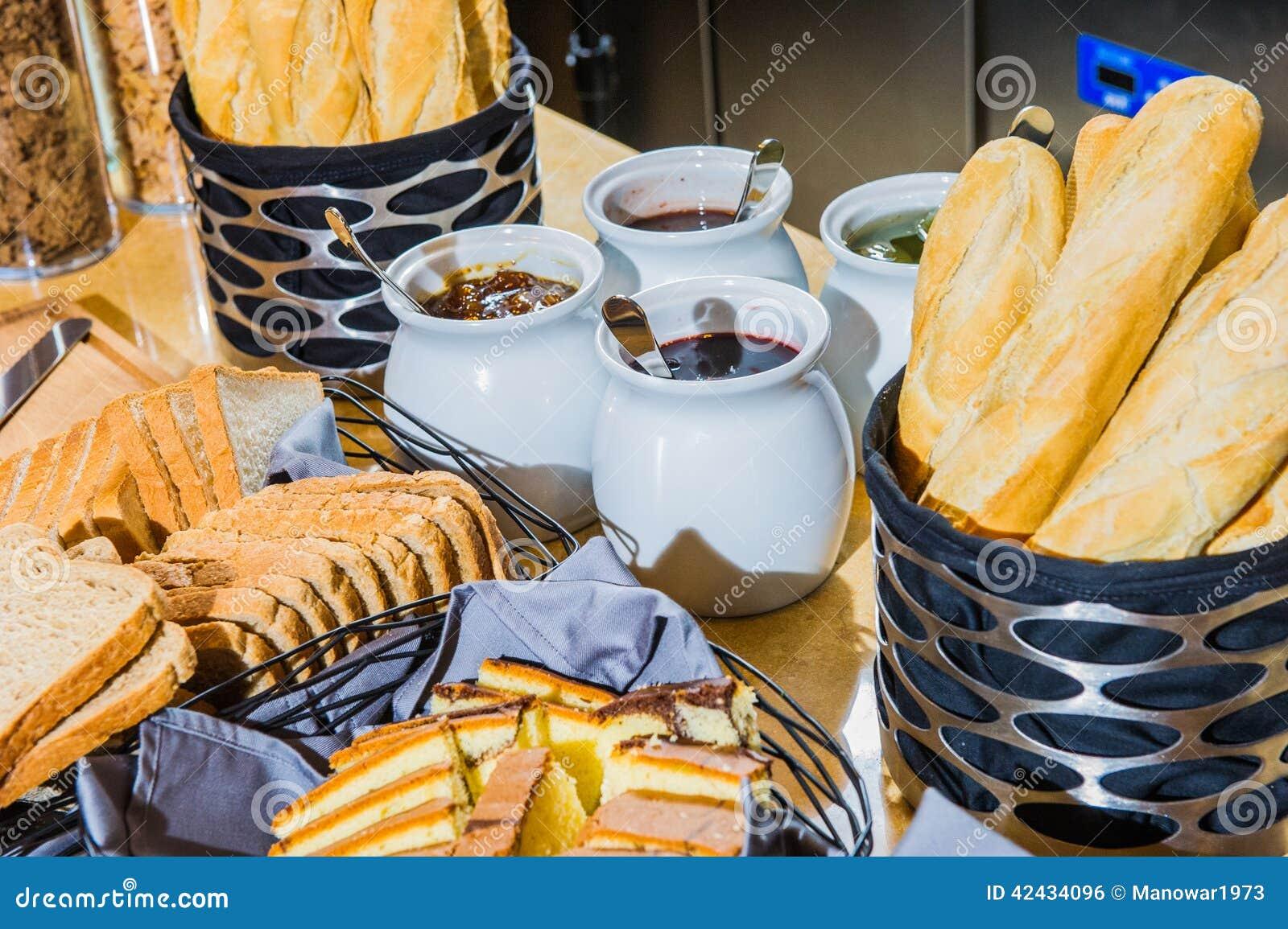 Imagen del pan y del atasco