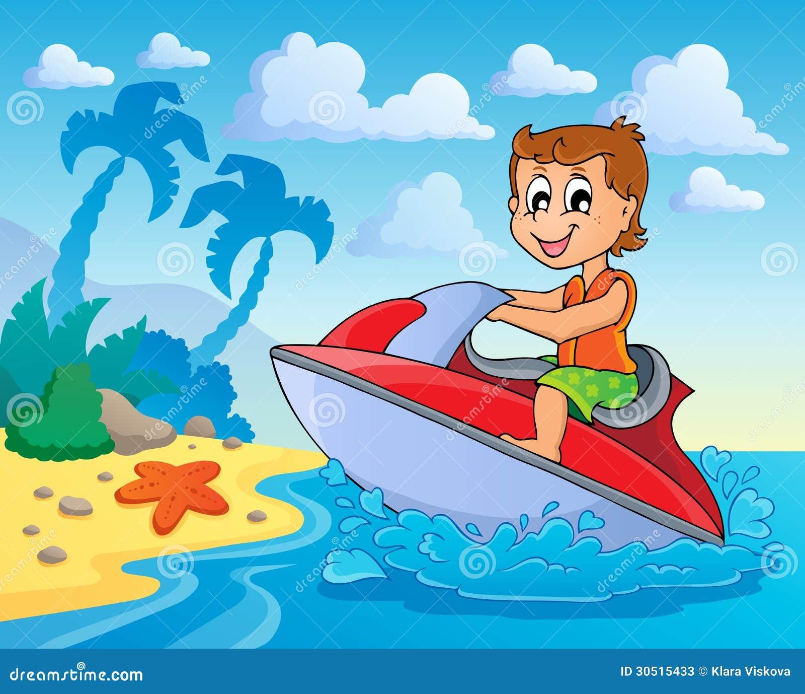 Deportes acuáticos culo