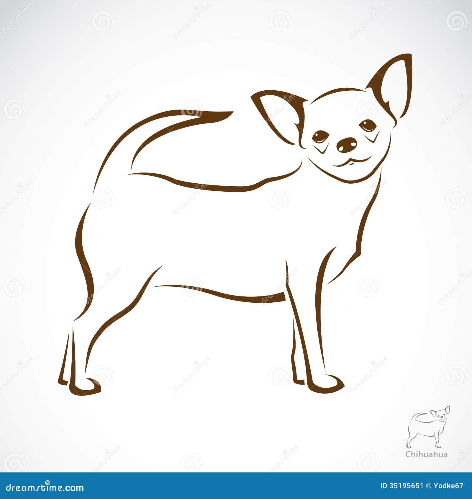 Dorable Chihuahua Para Colorear Colección de Imágenes - Dibujos de ...