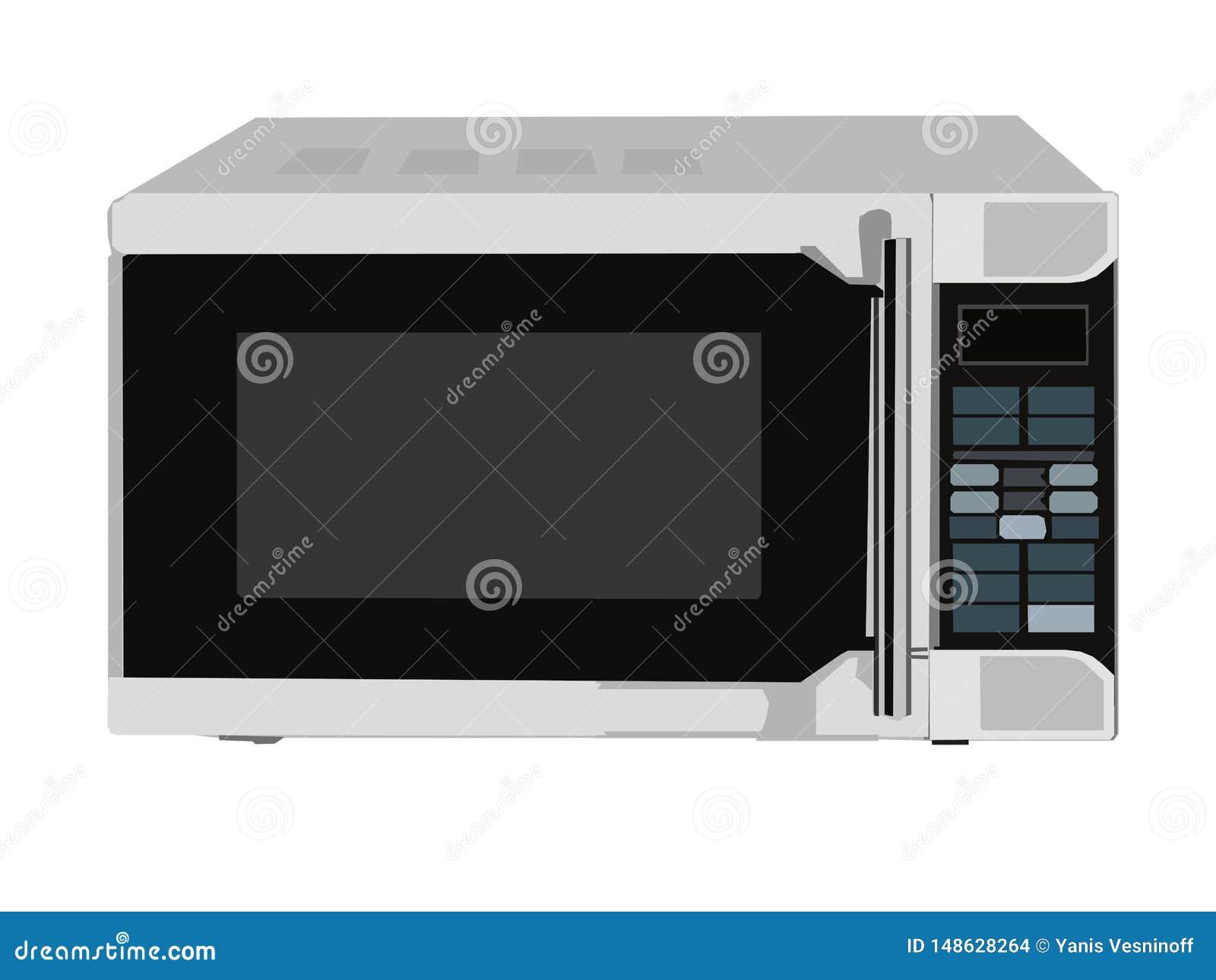 Imagen del vector del horno de microondas