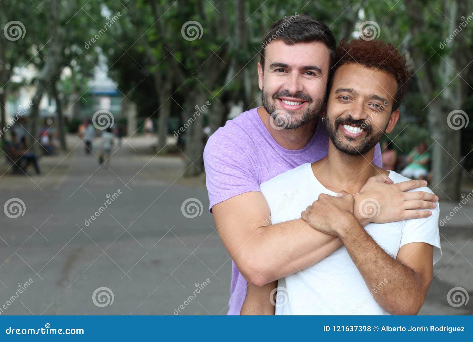 Imagen hermosa de pares gay