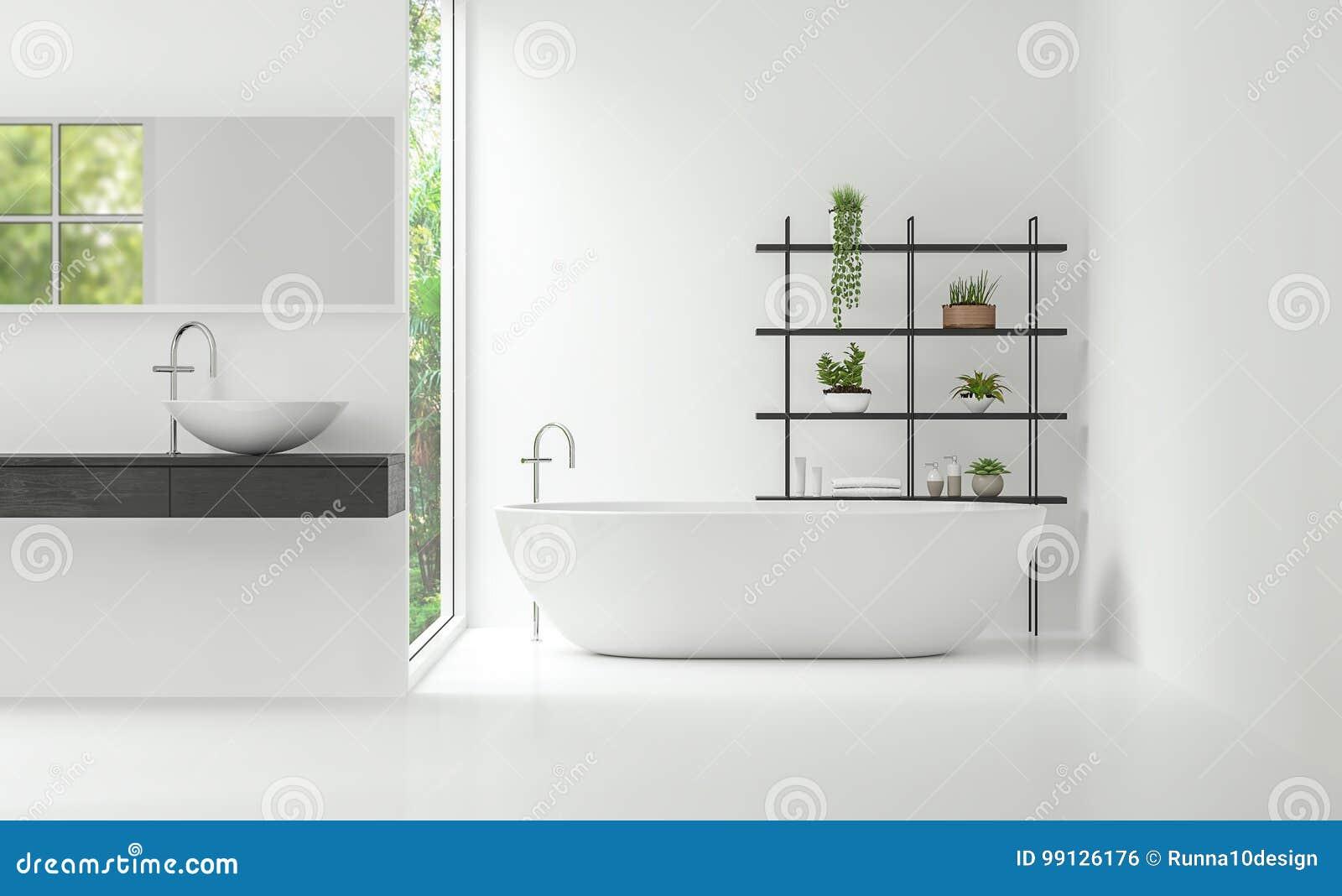 Imagen Mínima Interior De La Representación Del Estilo 3d ...