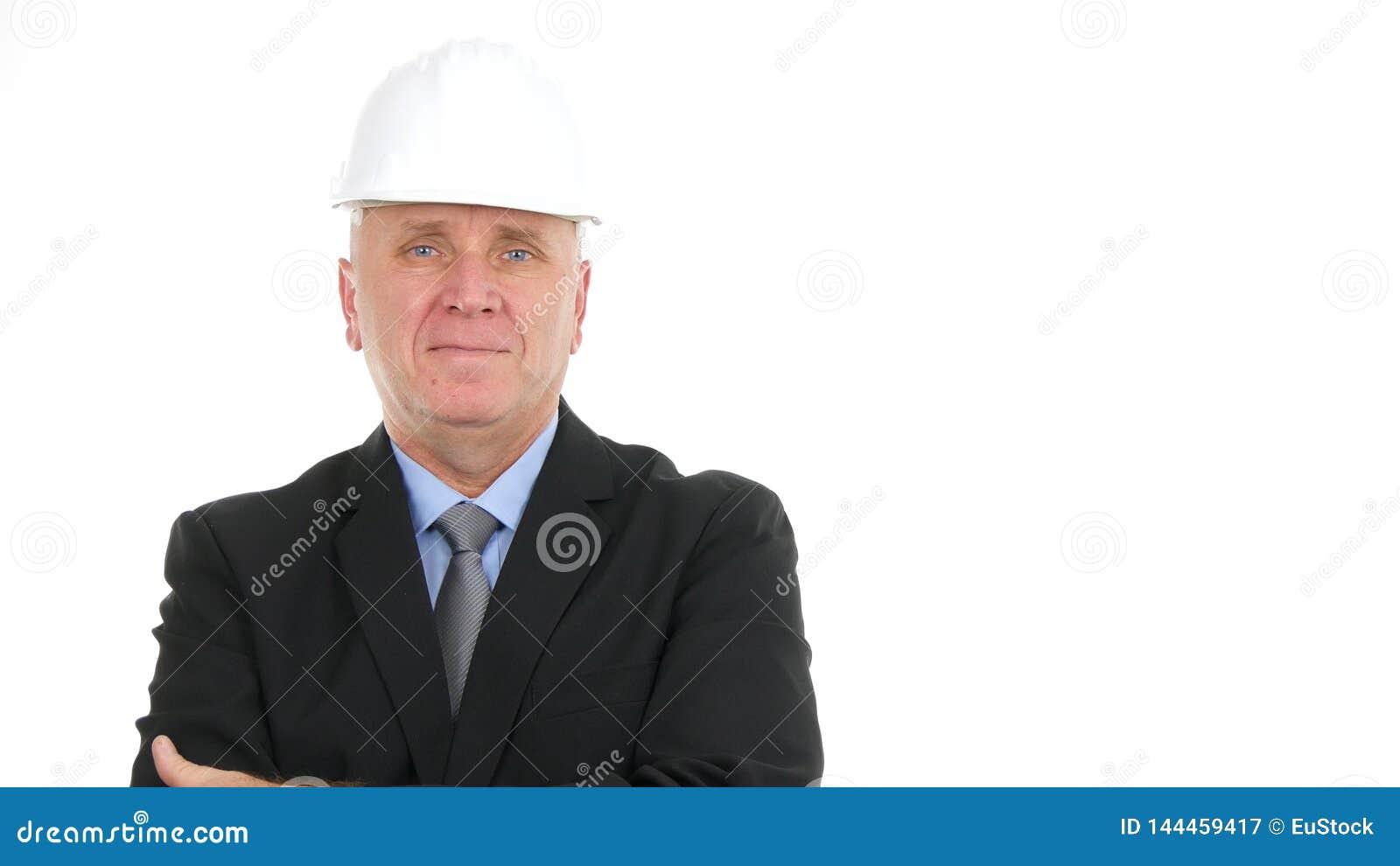 Imagen seria de Presentation Construction Company del encargado del ingeniero
