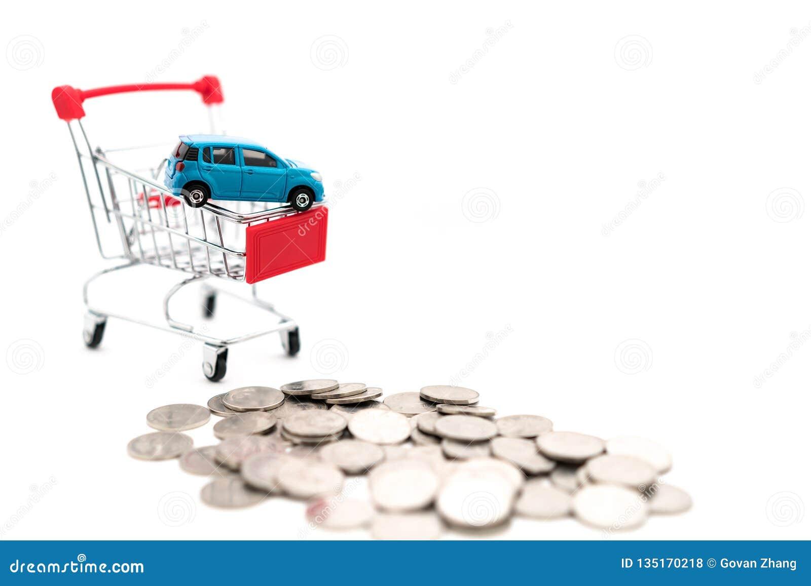 Images de achat de concept de voiture