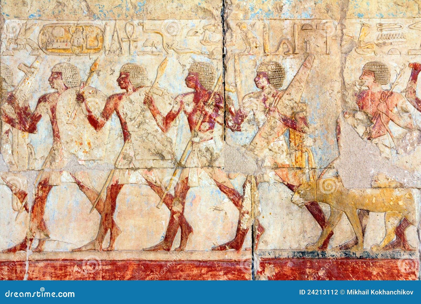 Images et hiéroglyphes antiques de l Egypte