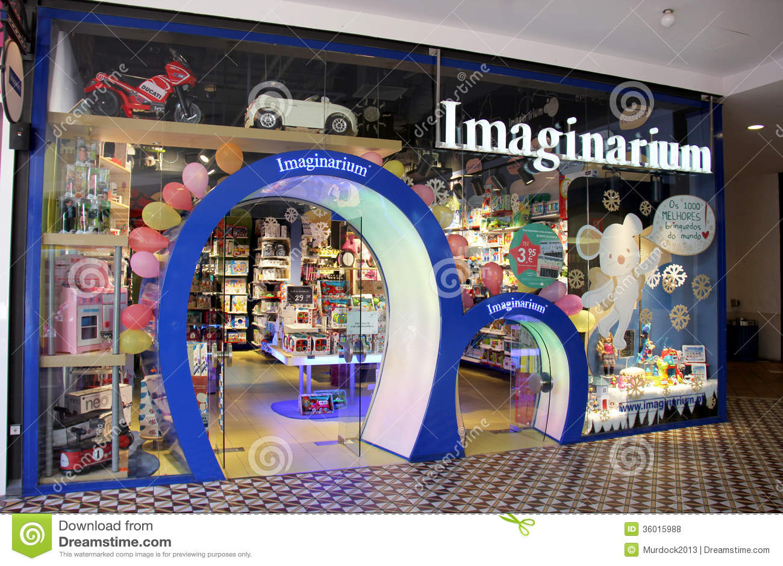 Imaginarium Toy Store Editorial Stock Photo Image 36015988