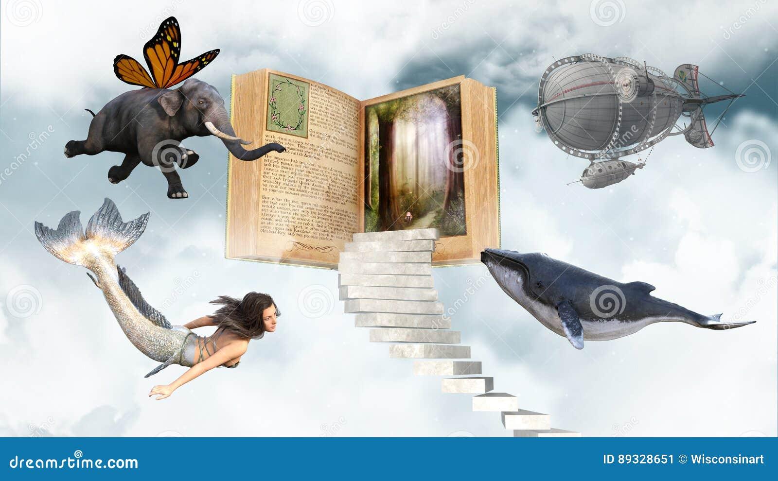 Imagination, livres, lecture, Storytime, amusement