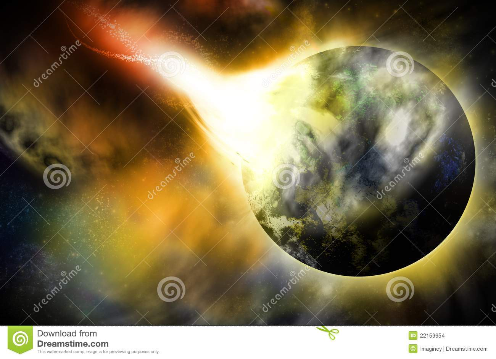 Imagine o planeta