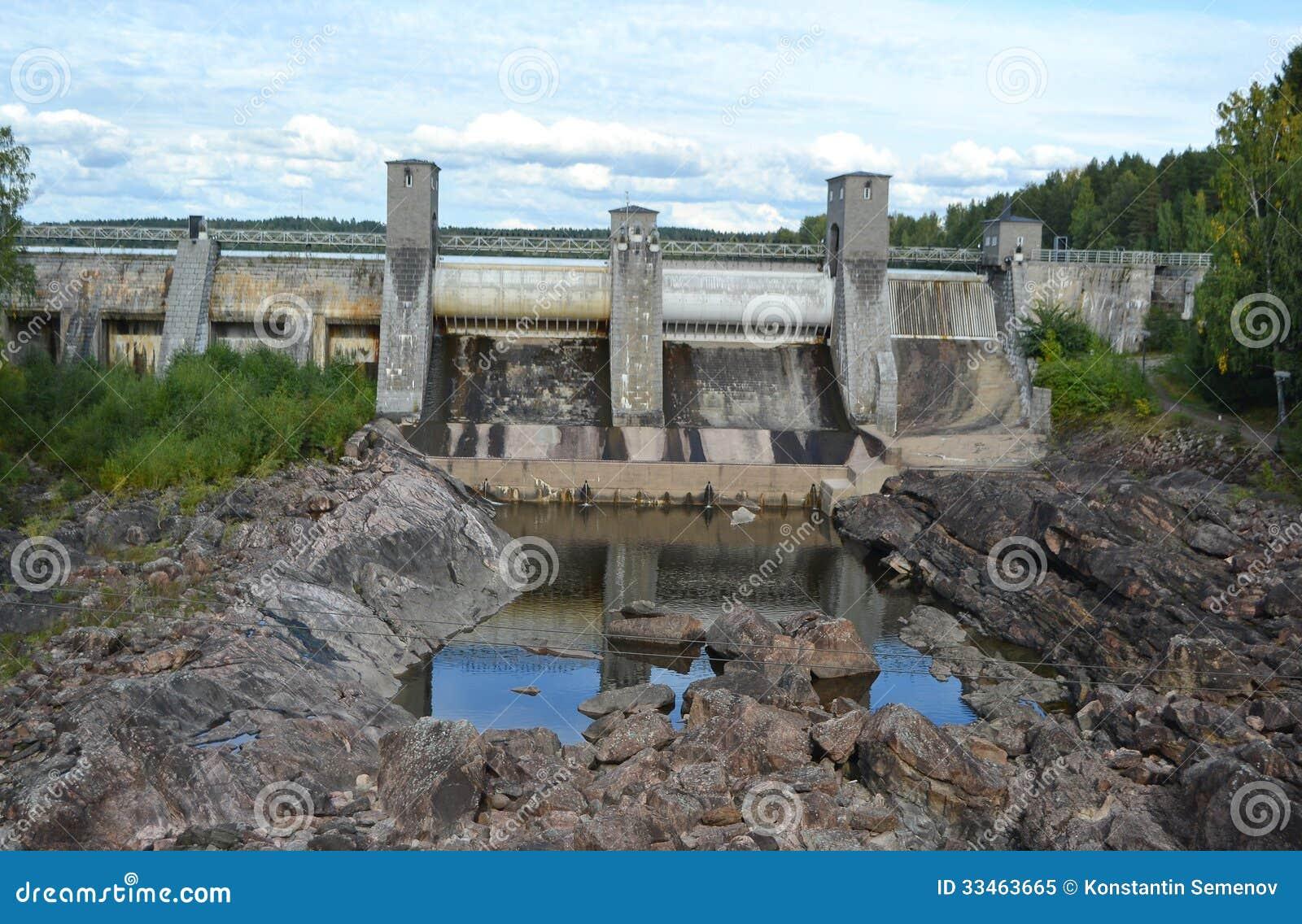 Imatra vattenkraftstation.