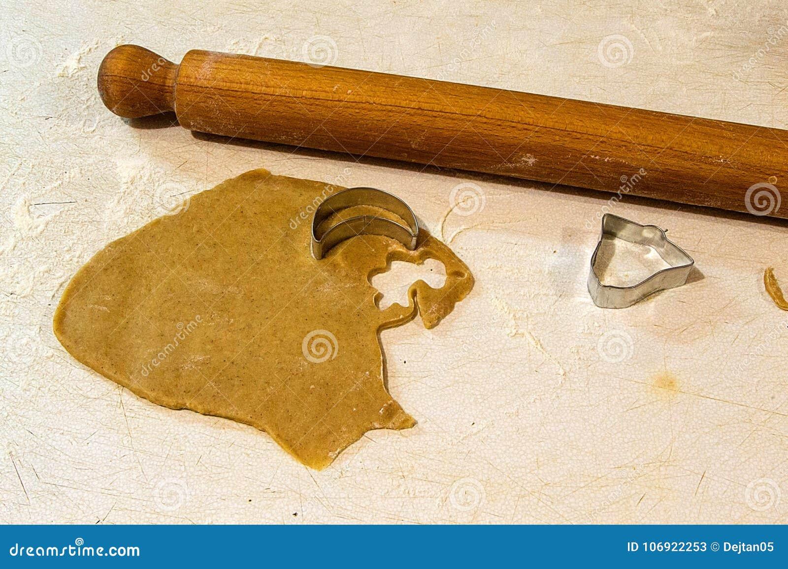 Imbirowi chlebowi ciastka, proces produkcji