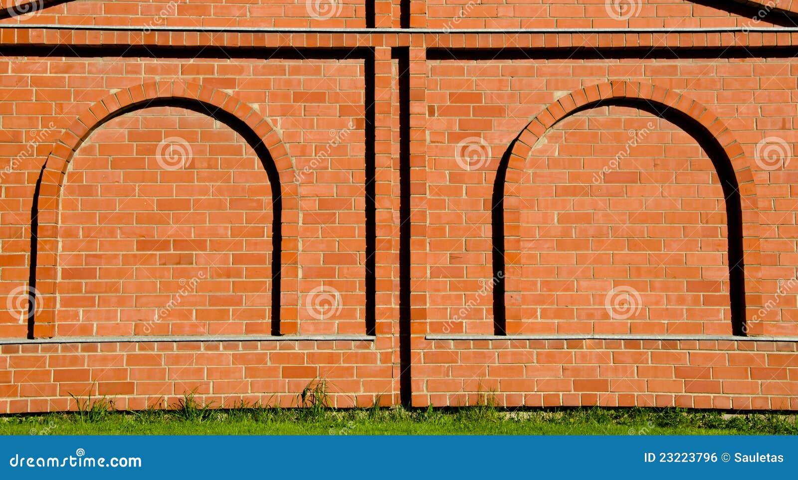 Imitation d corative de vo te de mur de briques de fond Faux mur en brique