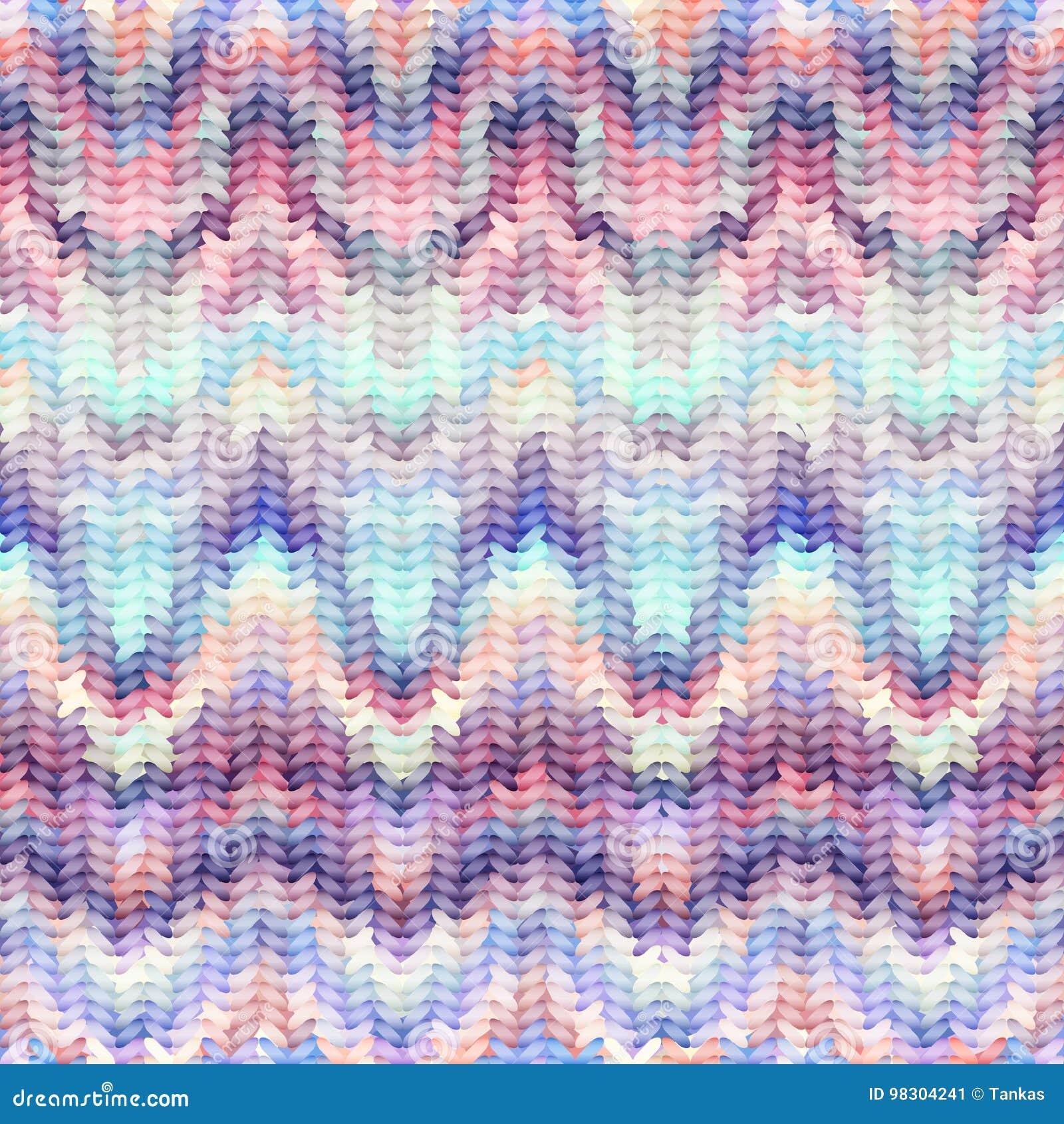 Imitation Sweater Knit Melange Effect Stock Vector - Illustration of ...