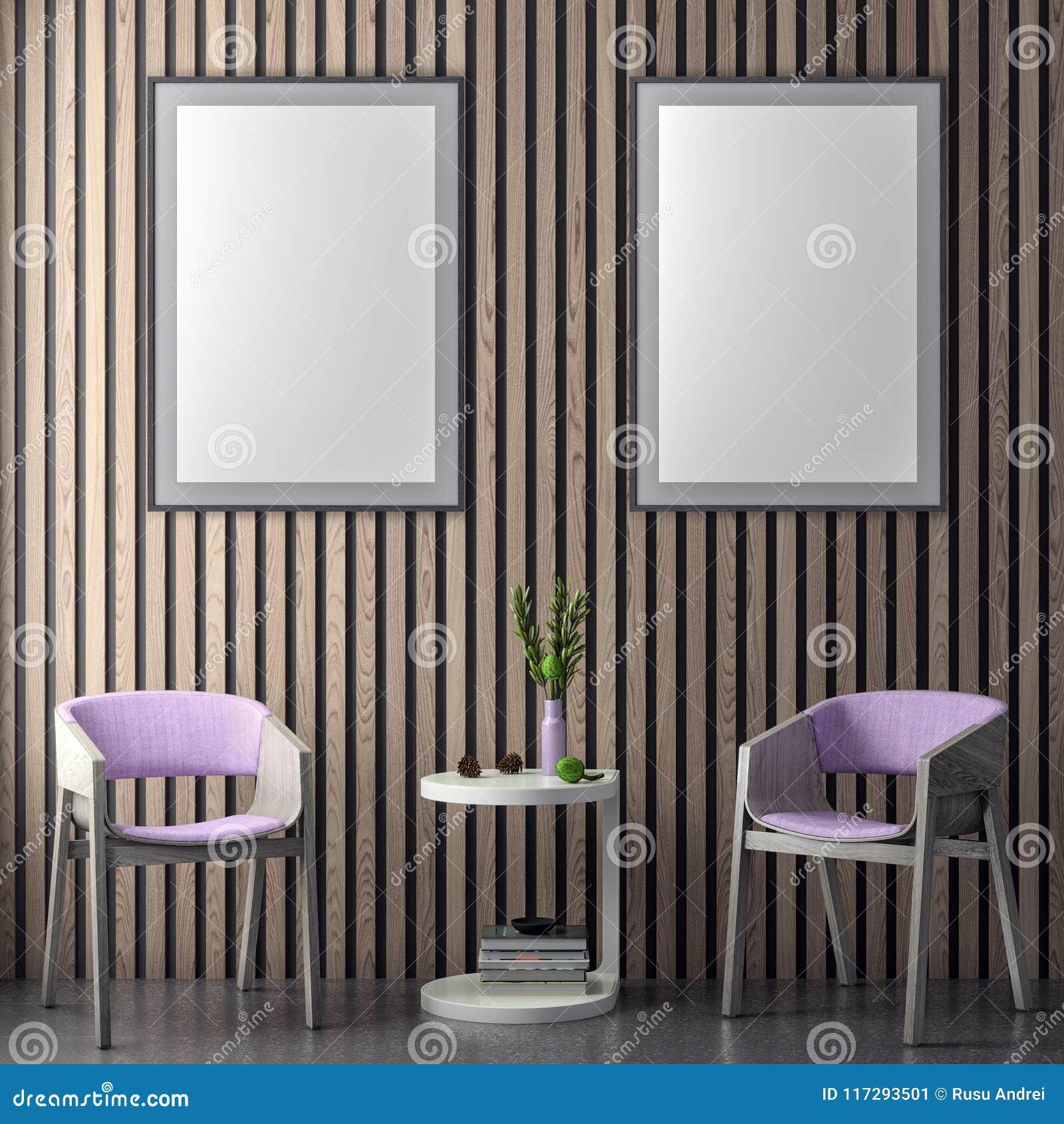 Imite encima de marco del cartel en fondo interior del inconformista en los tablones rosados del color y maderas de la pared, eje