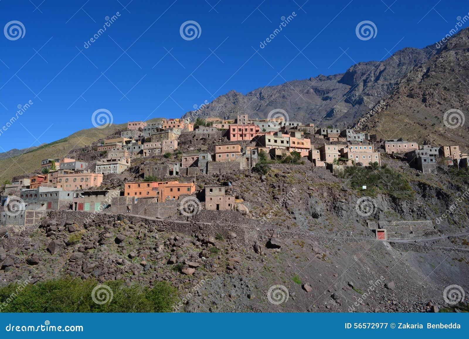 Download Imlil στο Μαρόκο Βόρεια Αφρική Εκδοτική Φωτογραφία - εικόνα από πρωί, στρατόπεδο: 56572977