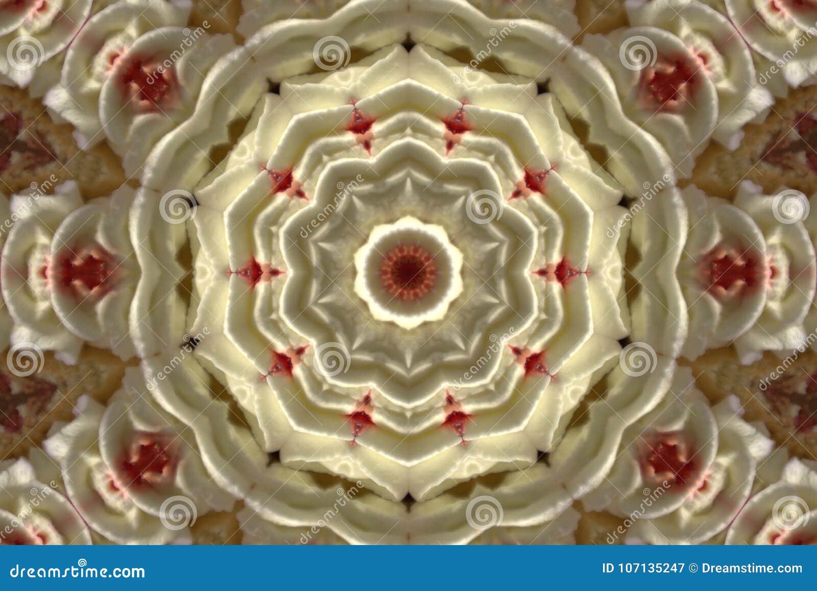 Immagine astratta di un cerchio