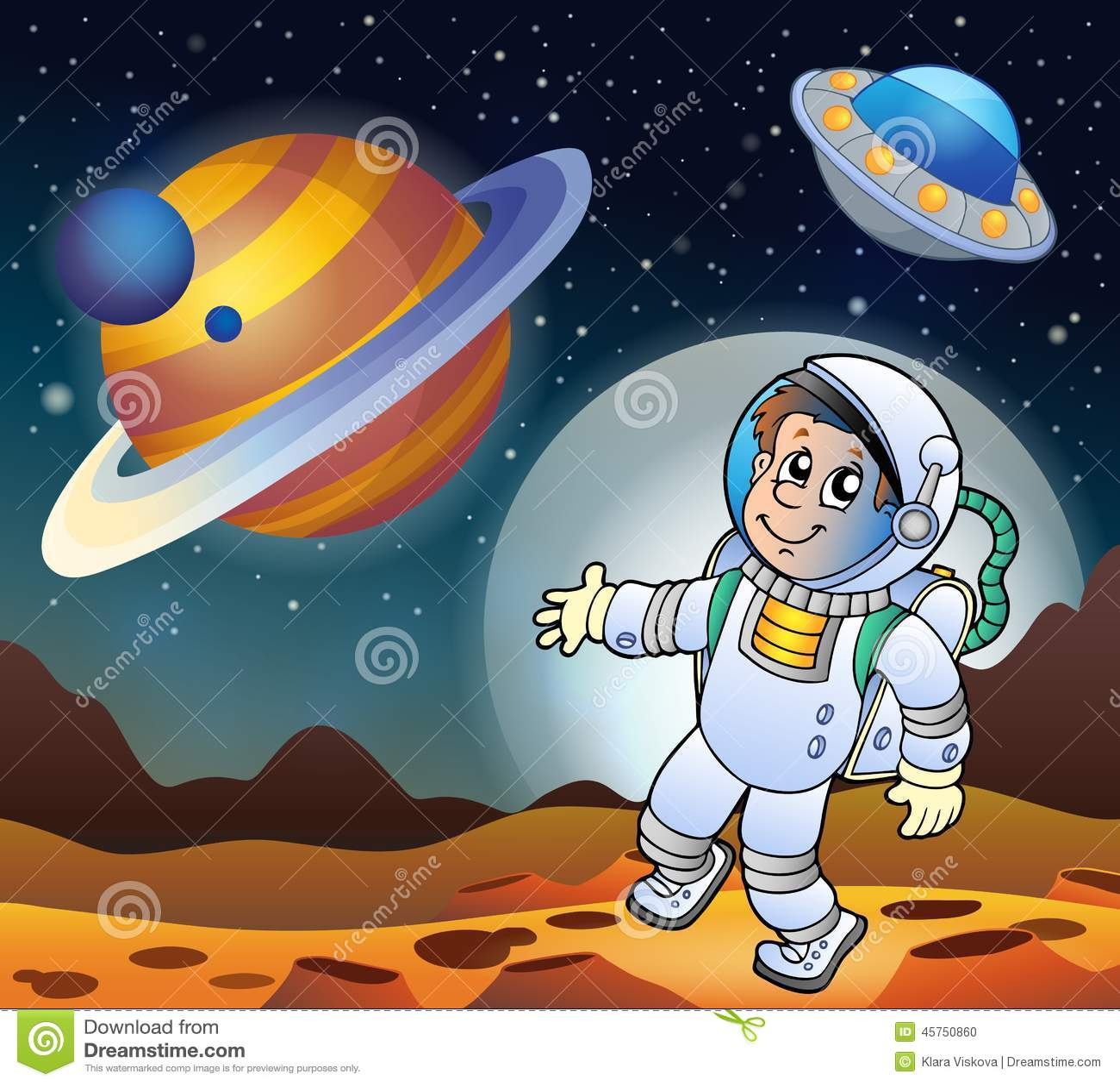 Immagine con il tema 7 dello spazio