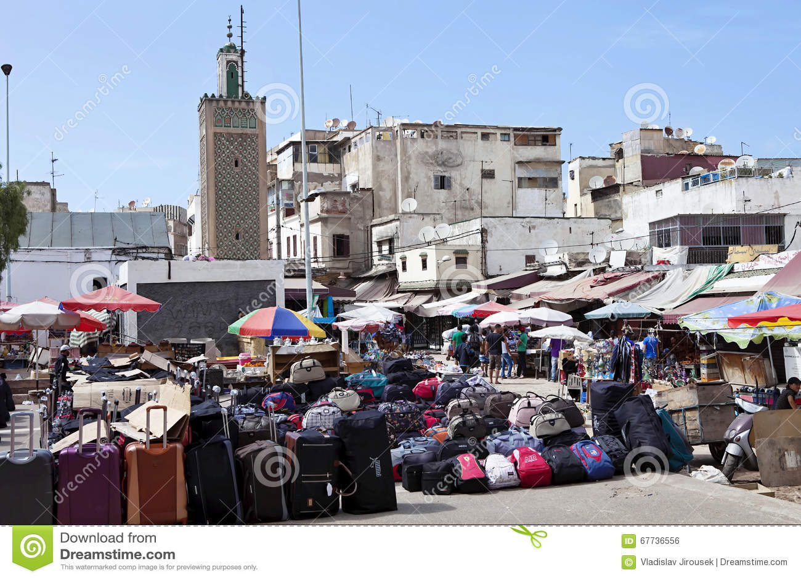 Immagine del mercato casablanca marocco fotografia - Marocco casablanca ...