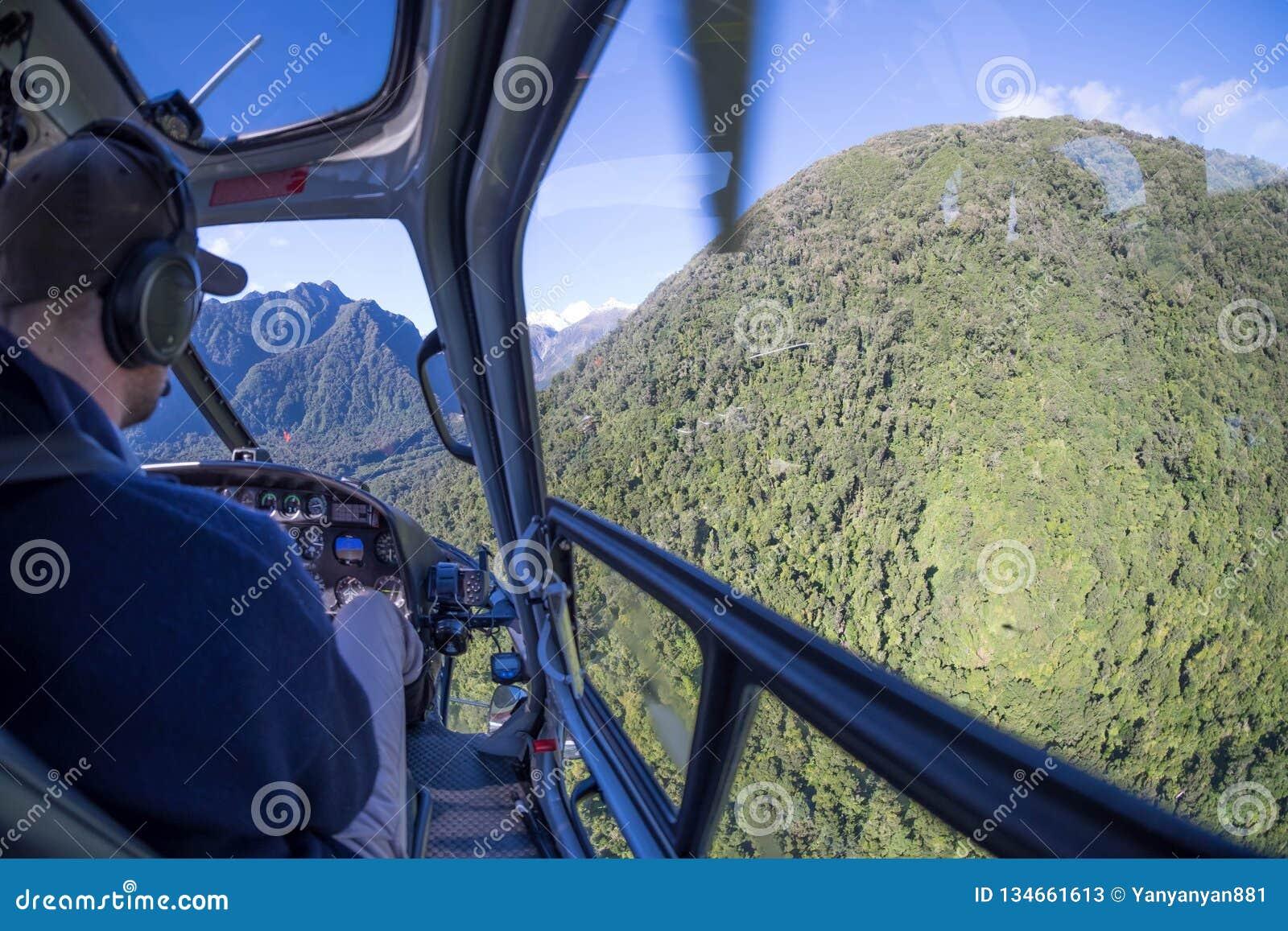 Immagine di avventura del giro dell elicottero al ghiacciaio di Fox, Nuova Zelanda