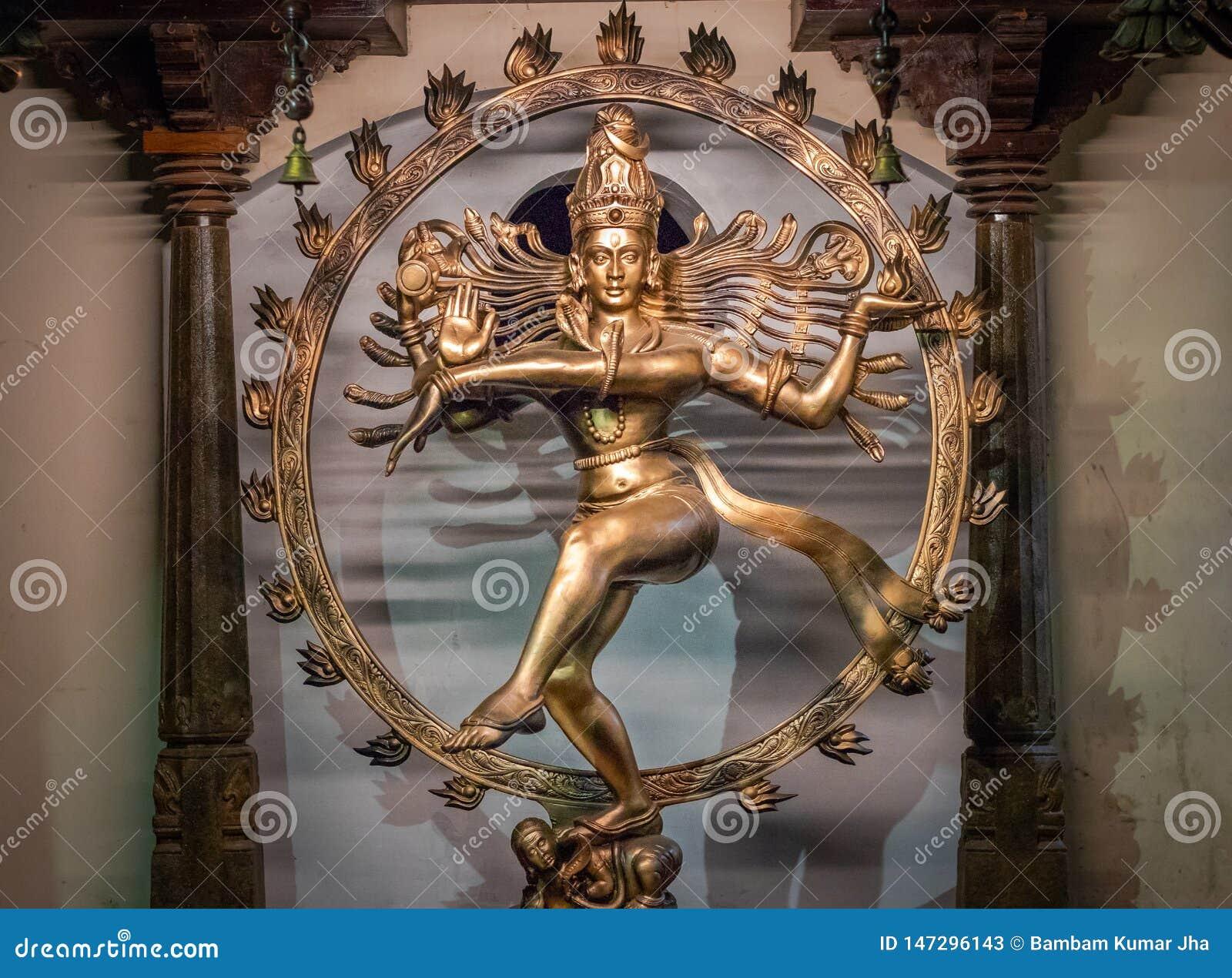 Immagine di Nataraj del dio indù Shiva