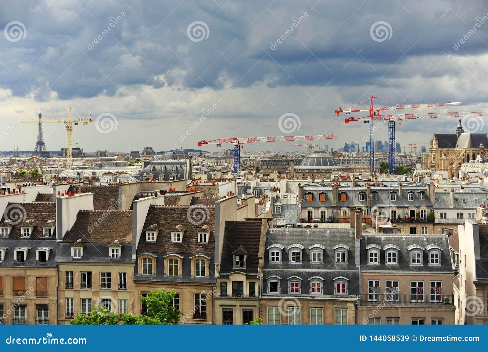 Immagine di Parigi presa da Montmartre
