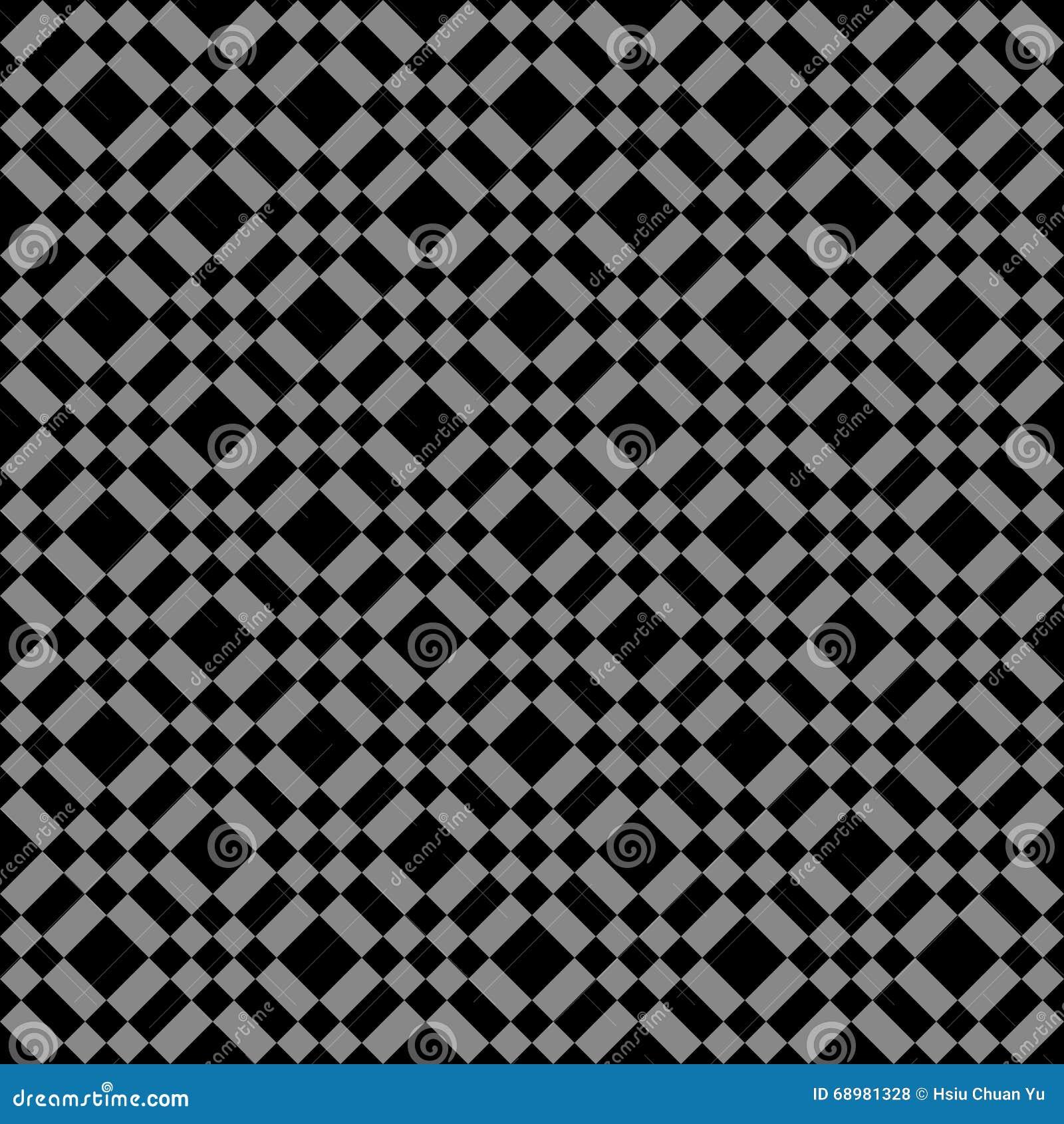 Immagine di sfondo antica scura elegante del quadrato del controllo del diamante