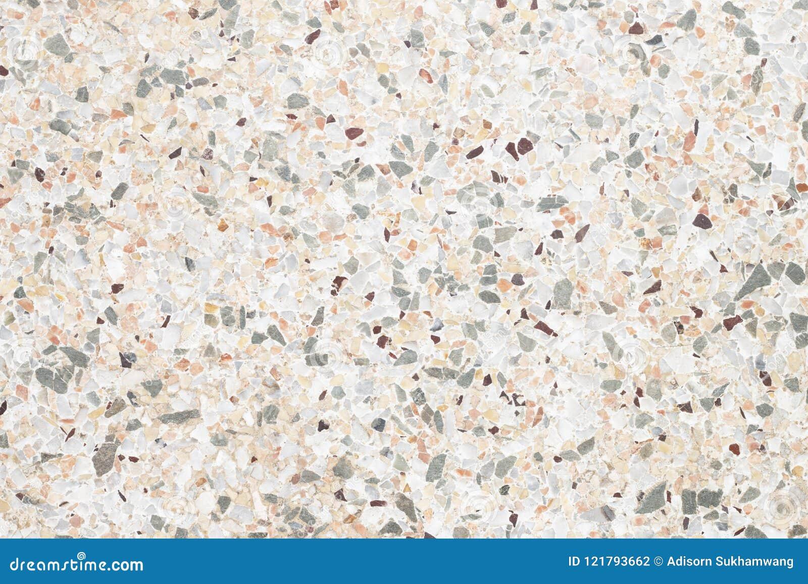 Immagine di sfondo del pavimento grigio di terrazzo