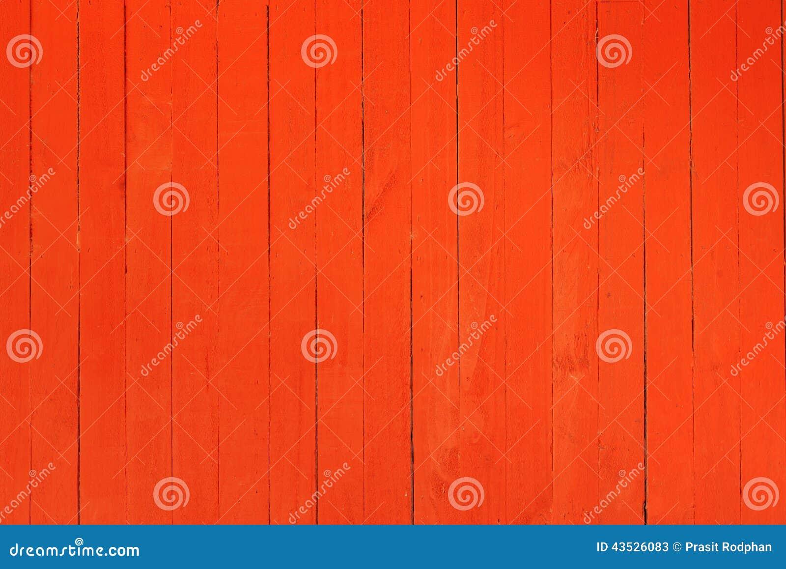 Immagine di sfondo di una parete di legno dipinta nel colore rosso ...