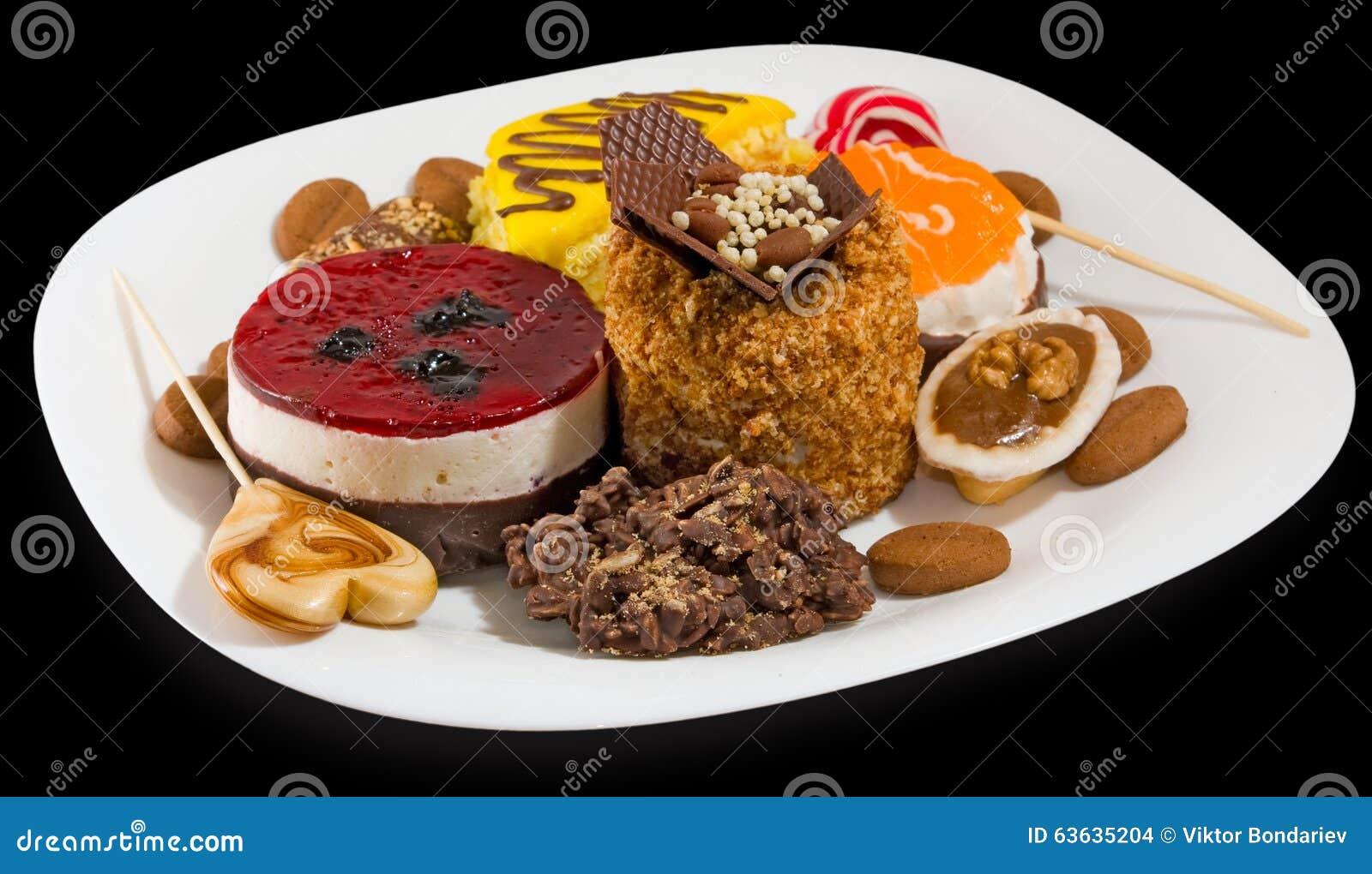 Immagine molti dolci deliziosi