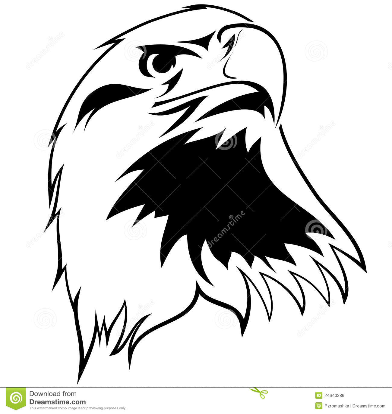 Free Cartoon Hawk Clipart