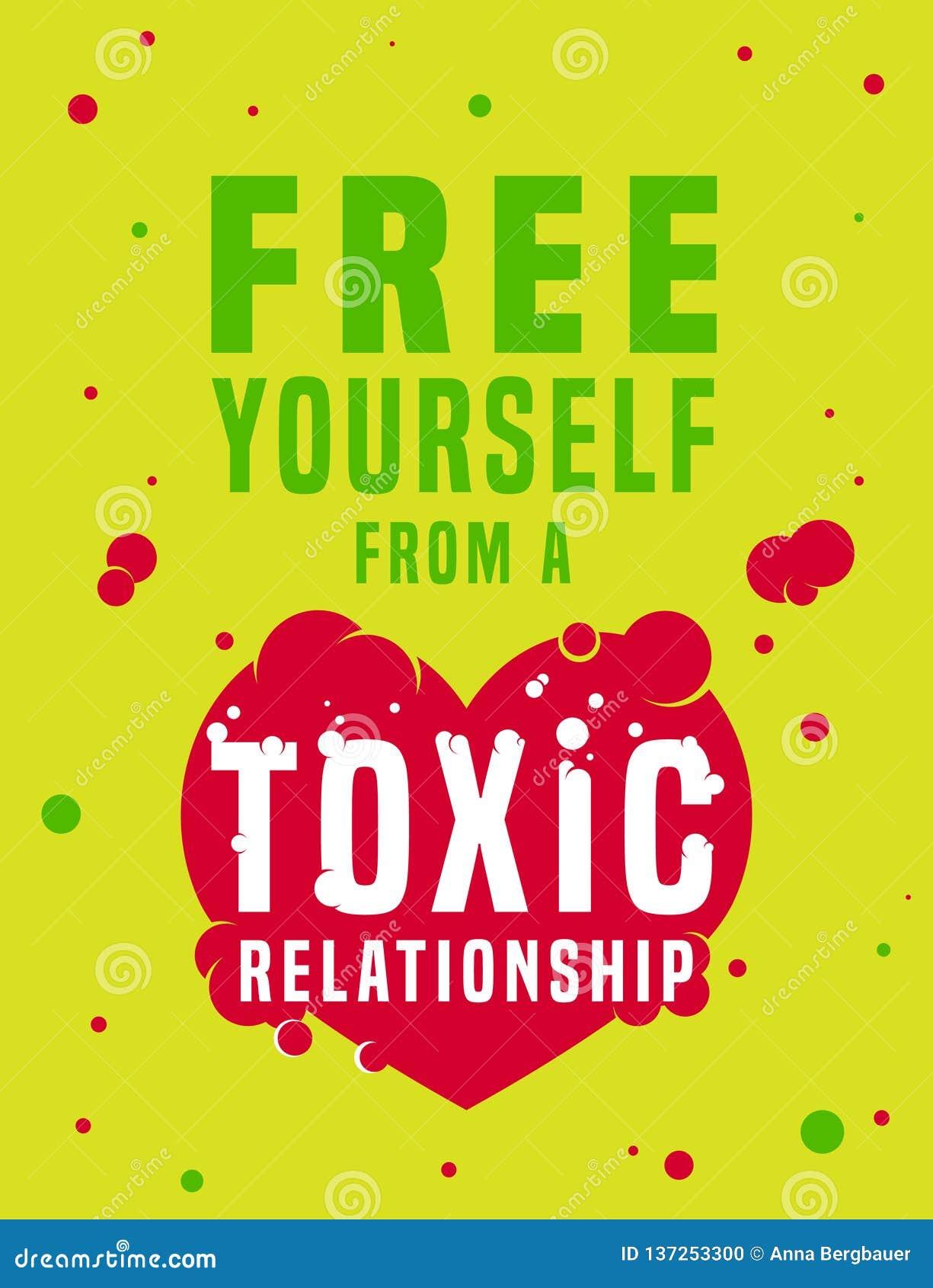 Immagine tossica di relazioni