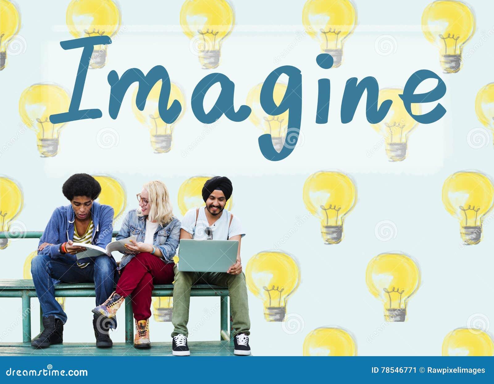 Immagini concetto di sogno di creatività di ispirazione della visione il grande