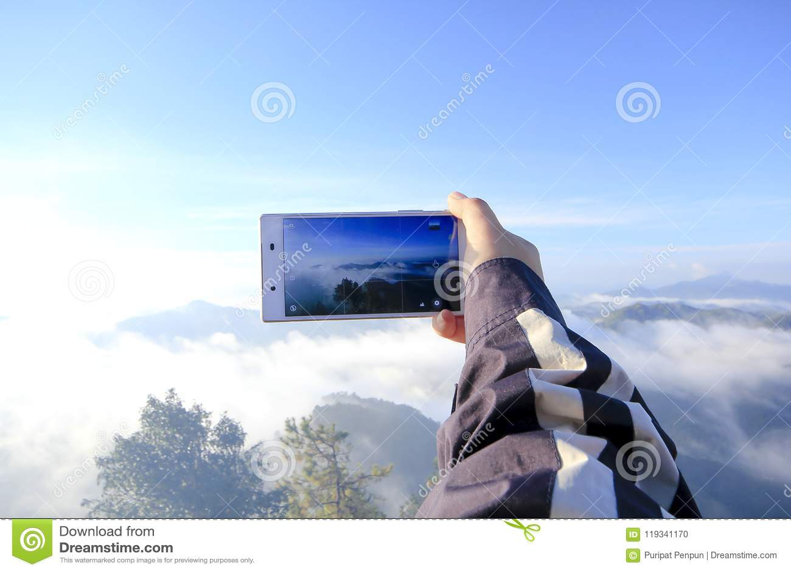 Immagini di vista sul telefono