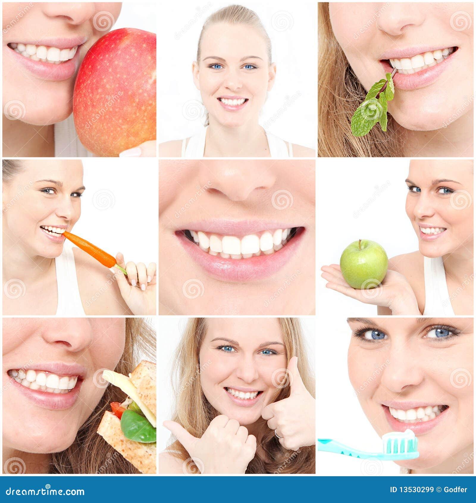 Immagini sane dei dentisti dei denti