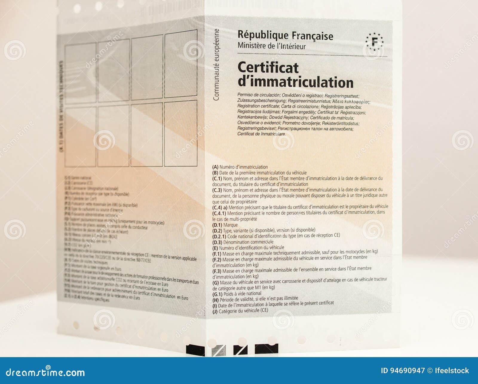 immatricolazione k del del certificat d del certificato di immatricolazione dei veicoli. Black Bedroom Furniture Sets. Home Design Ideas