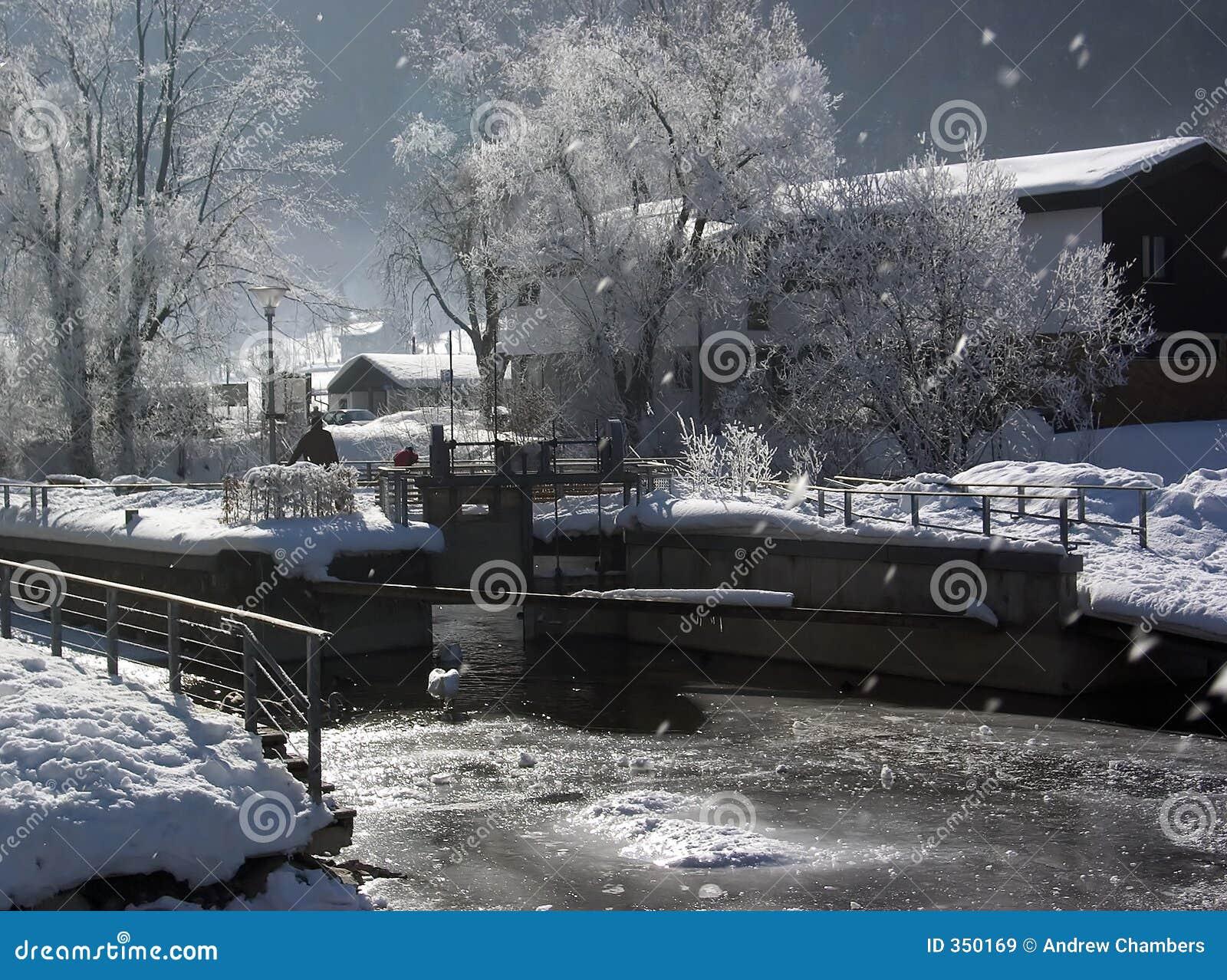 Immenstadt in inverno