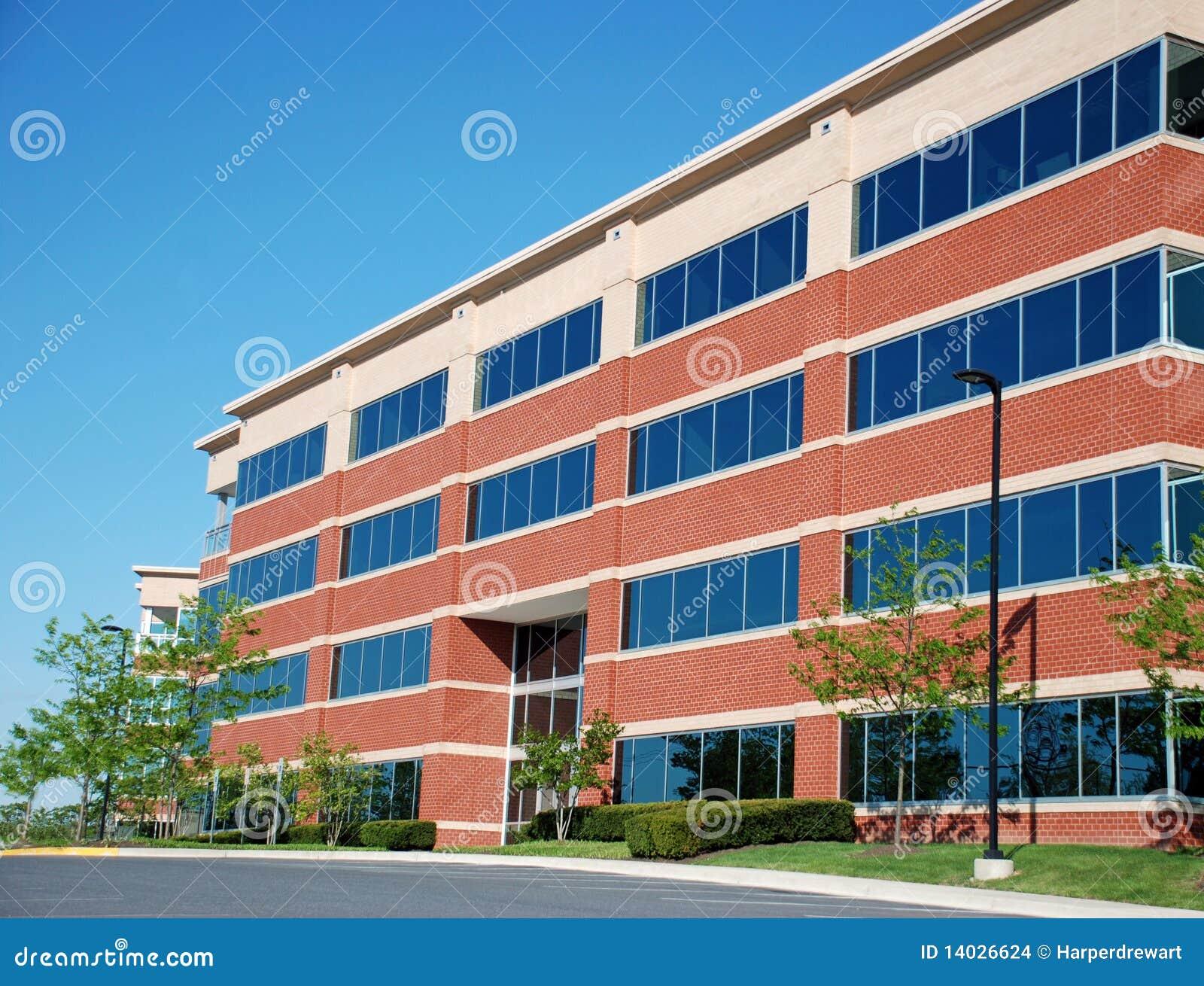 Immeuble de bureaux moderne photo stock image du cityscape