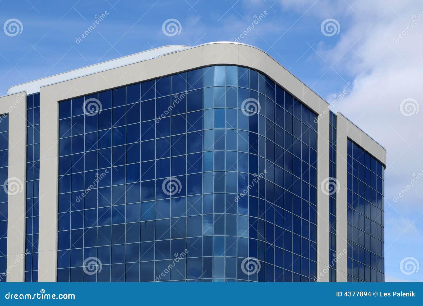 Immeuble de bureaux moderne images stock image 4377894 for Immeuble bureau moderne