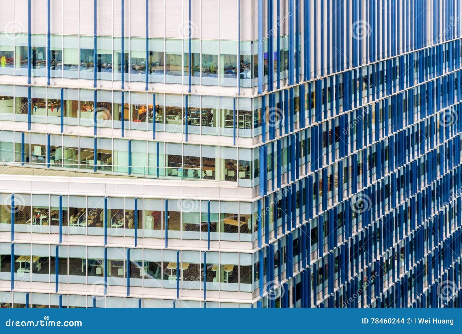 Immeuble De Bureaux Moderne : Extérieur immeuble bureaux moderne u photographie grand warszawa