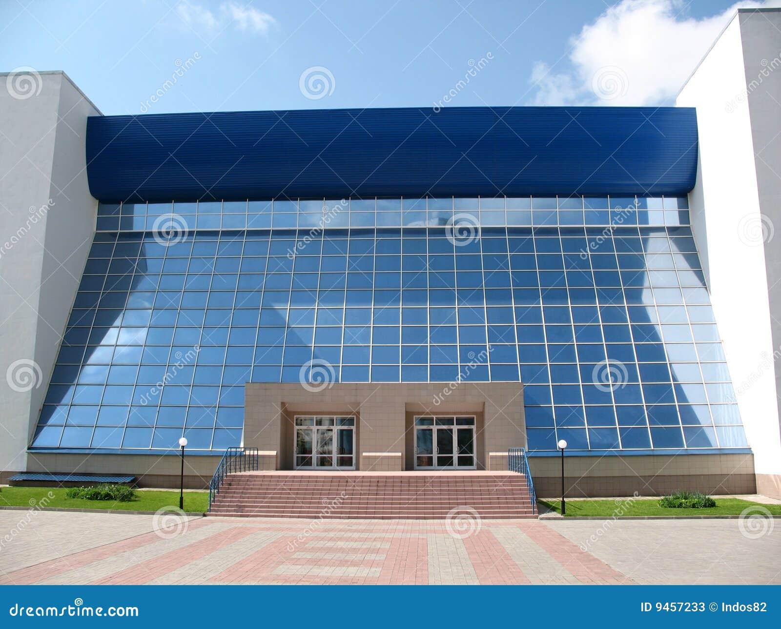 Immeuble de bureaux moderne image stock image du finances