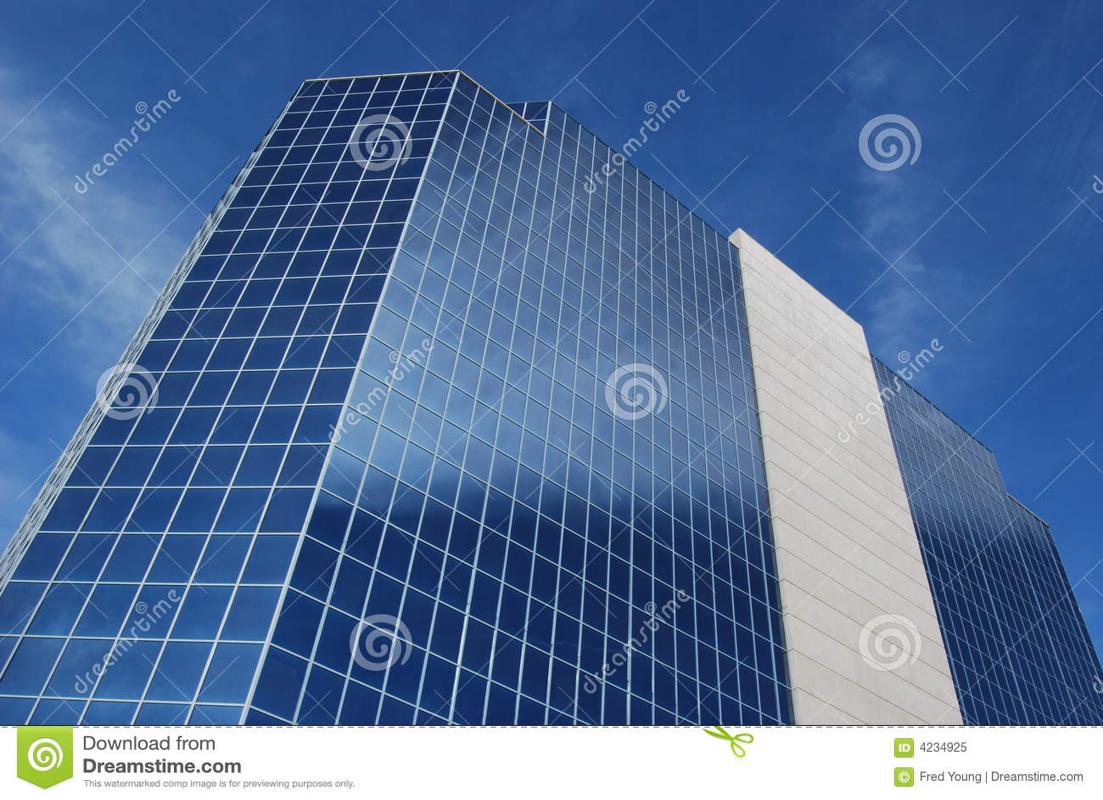 Bureau moderne angle verre et métal chiffonnier tiroirs a