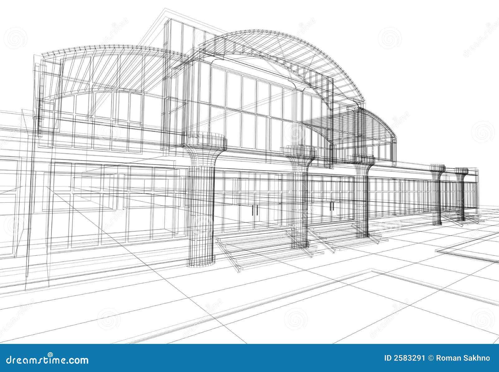 comment dessiner des immeubles en 3d. Black Bedroom Furniture Sets. Home Design Ideas