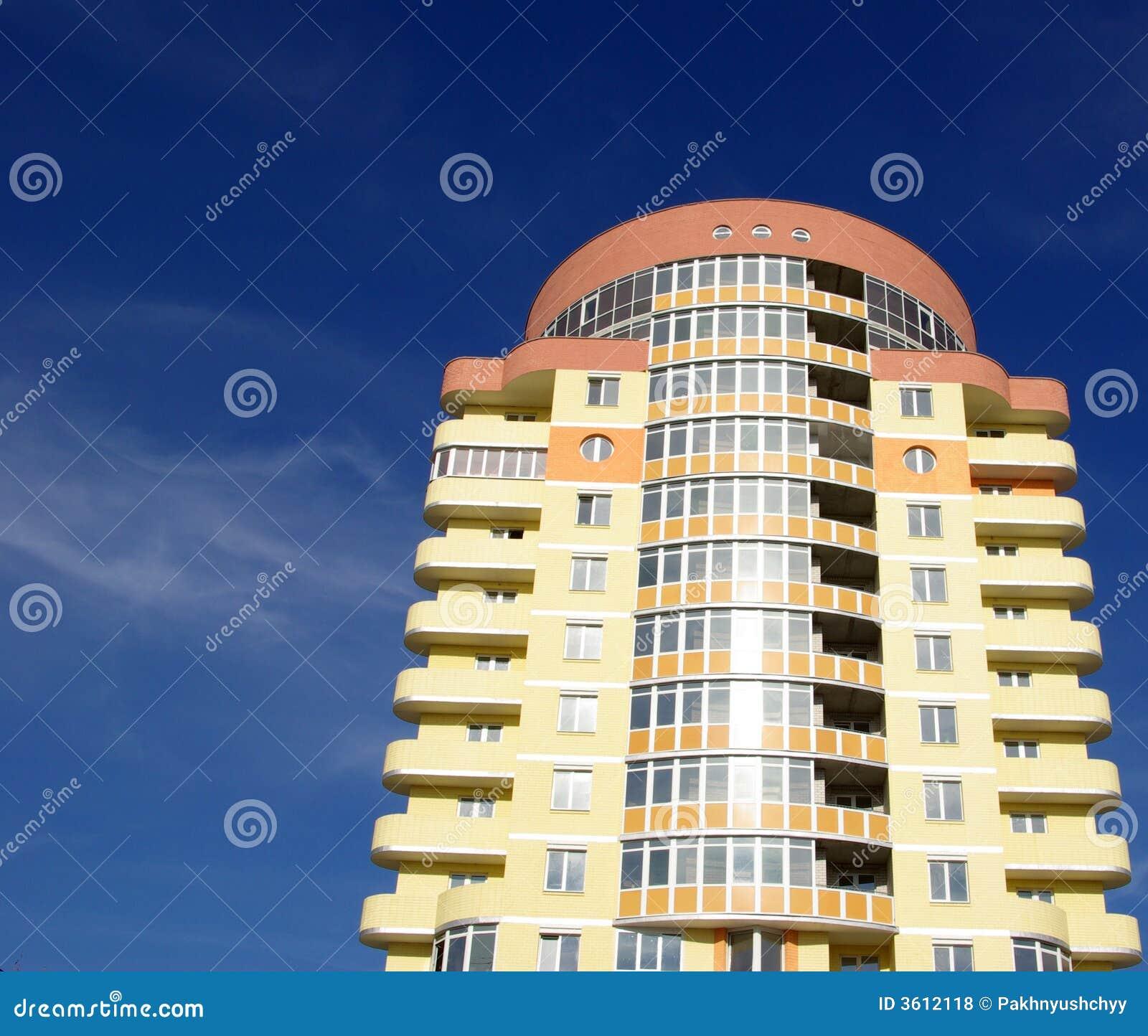 Immeuble moderne photos libres de droits image 3612118 for Image immeuble moderne